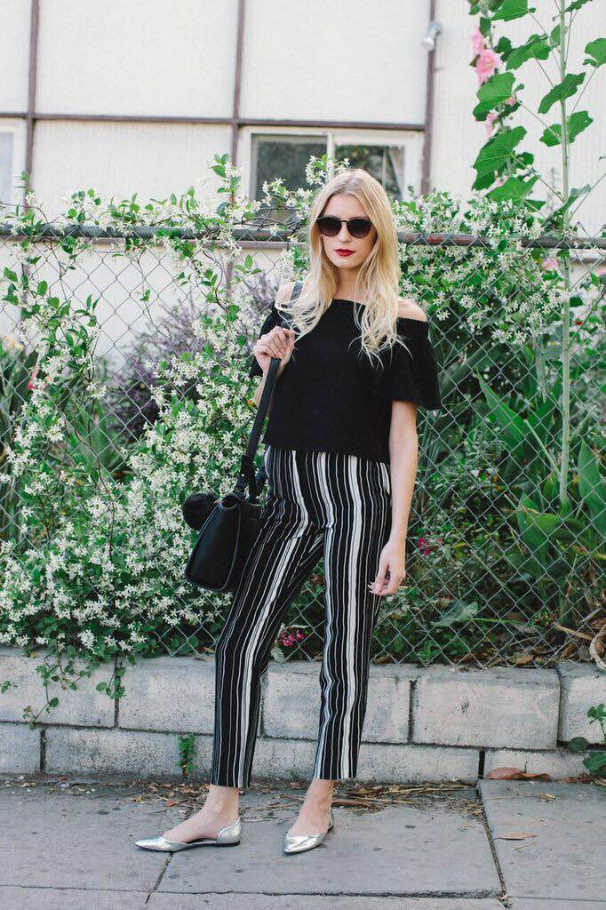 Top: Topshop, Pants: Topshop, Shoes: Zara, Bag: Forever 21, Sunnies: Forever 21, Rings: Asos