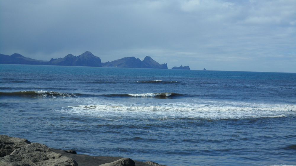 More of the ocean somewhere in the vicinity of Vestmannaeyjar ... or else my pictures got out of order.