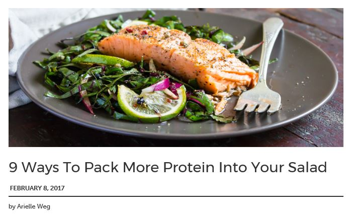 9 Ways to Pack More Protein Into Salads