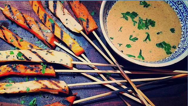 Chef Catherine Brown_Potato Satay with Almond Lime Sauce.JPG
