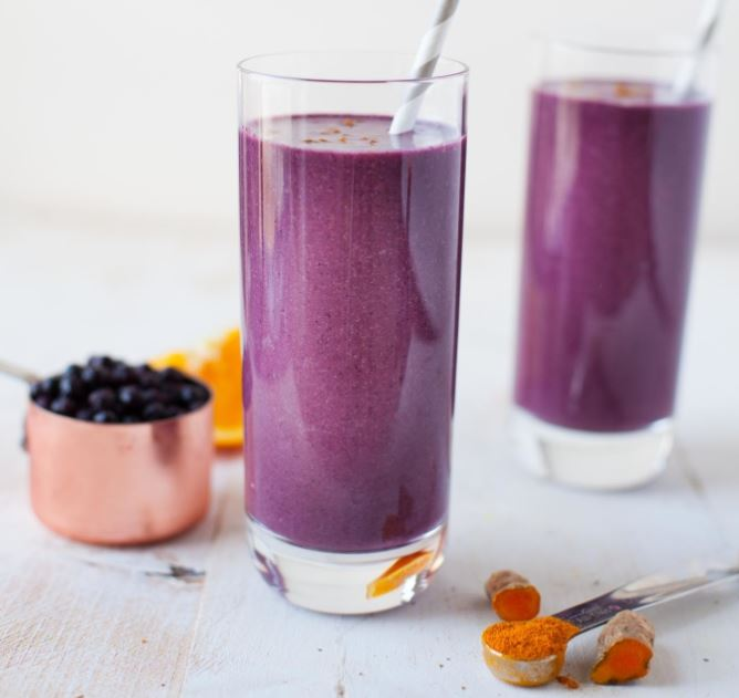 Wild Blueberry Turmeric Zinger Smoothie.JPG