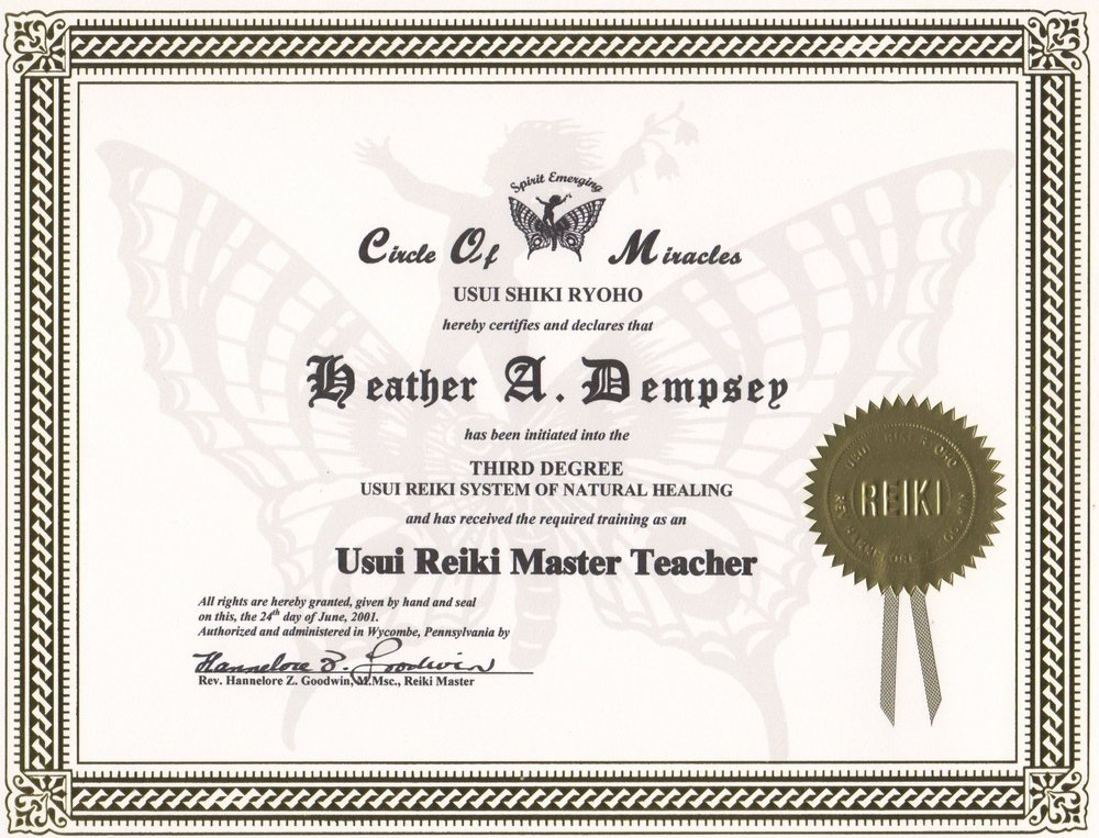 1st Master | Teacher Training 2001