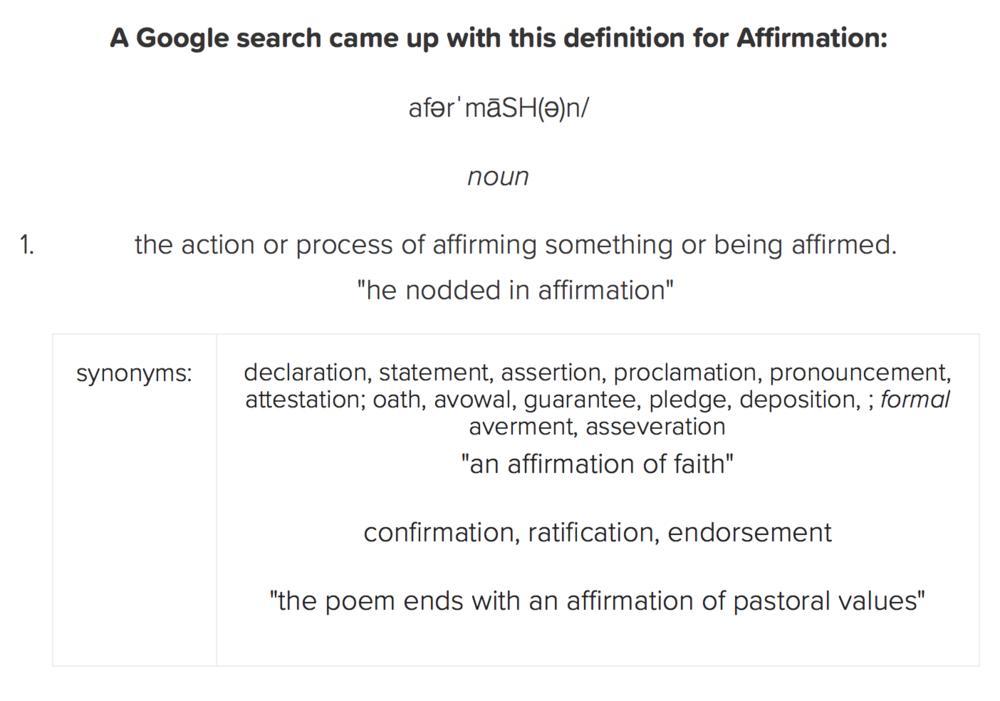 Affirmation definition.png