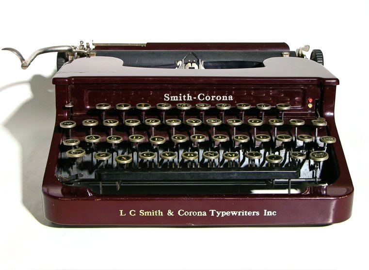 """Smith Corona -- the best typewriter company in the world!"""