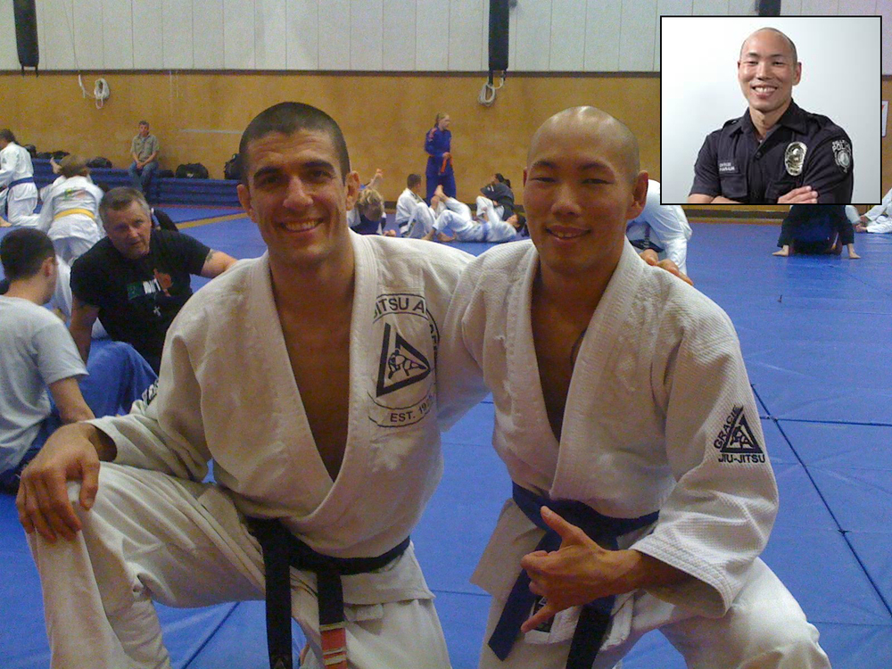 "Craig Hanaumi  trains Gracie Survival Tactics for Law Enforcement   ""As a Police Officer in Bellevue, WA, I have had the privilege of building relationships with several organizations. In many of the partnerships I have combined outreach with one of my passions, Brazilian or Gracie Jiu-Jitsu.  Having trained in the art since 2008, I have found it to be a highly effective system of Self Defense which can be done by a person of any size or fitness level.  Through my participation in Jiu-Jitsu I have met many amazing people, and this summer I met a woman who I think would be of great service,  Angela Maria Nardolillo .  A  Gallaudet University  Alumni, she has taught the Gracie Jiu-Jitsu Academy's Women Empowered curriculum entirely in sign language at various locations around the world.  I have personally seen her work as an instructor, and it is extremely impressive and inspiring.""   –  Craig Hanaumi ,   Police Officer at the Bellevue Police Department in Washington"