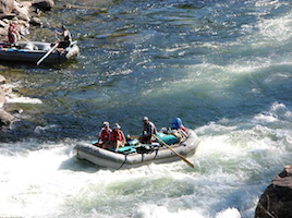 River Rafting trips down the Snake or Wind River