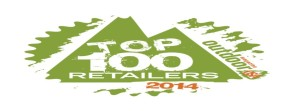OUTDOOR USA MAGAZINE TOP 100 RETAILER 2014