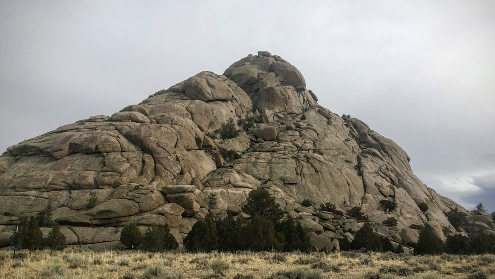 Great Stone Face at Sweetwater Rocks