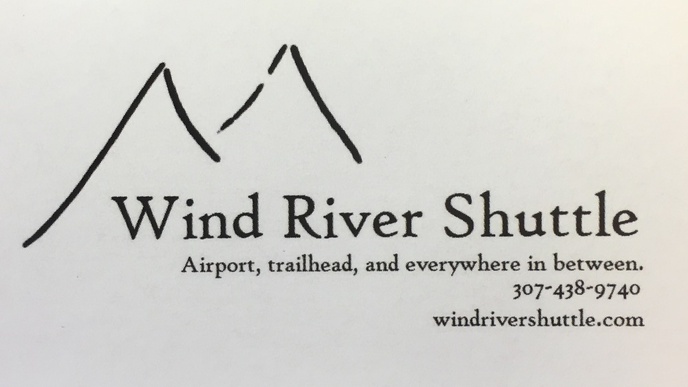Wind River Shuttle Company is now providing shuttle services for the Wind River Range