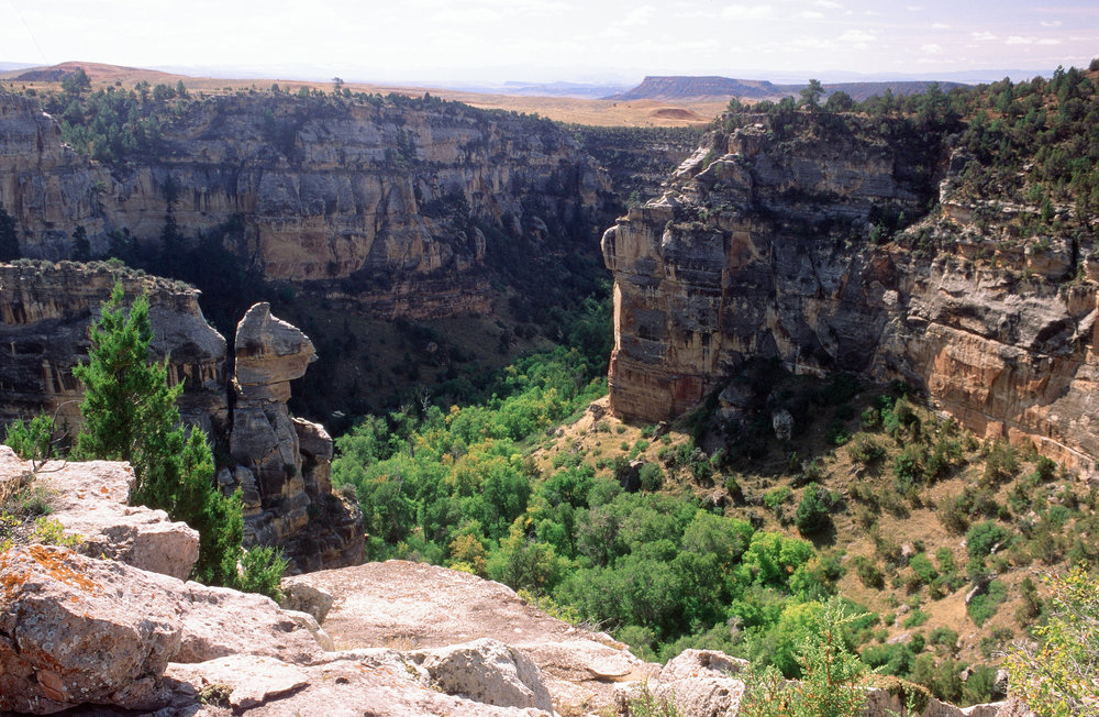 Mouth of Black Canyon - Tensleep Preserve© Harold Malde