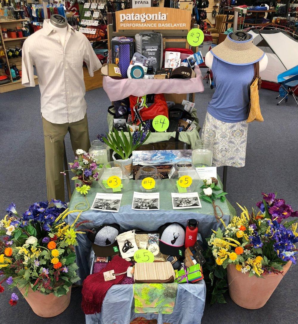 Spring Fling Raffle Prizes