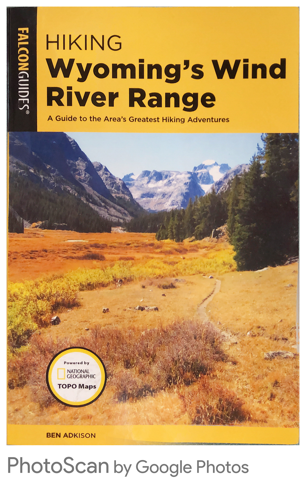 Wind River Range Wyoming Map.Hiking Wyoming S Wind River Range 3rd Ed Wild Iris Mountain