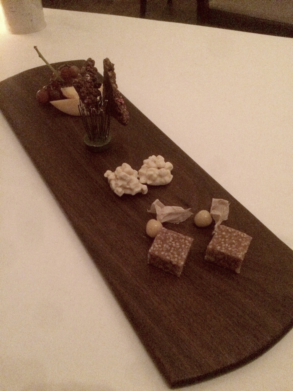 Dessert board.