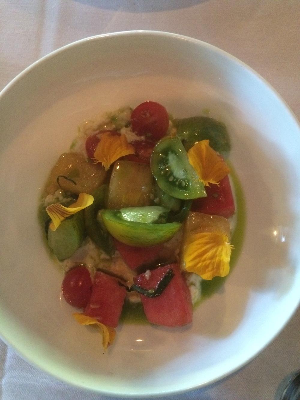 Heirloom tomatoes. $12
