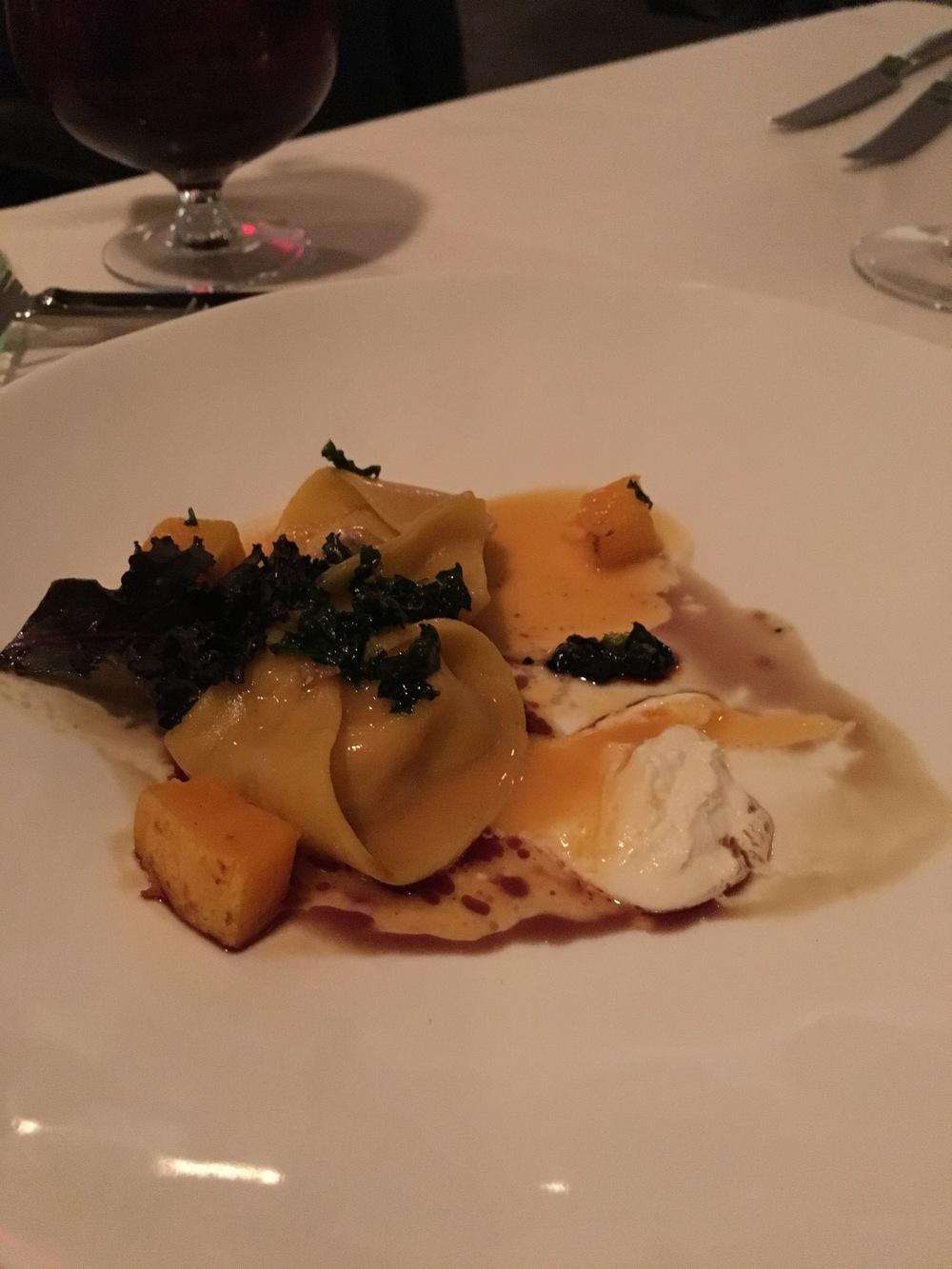 Pumpkin & Robiola Cheese Tortellini