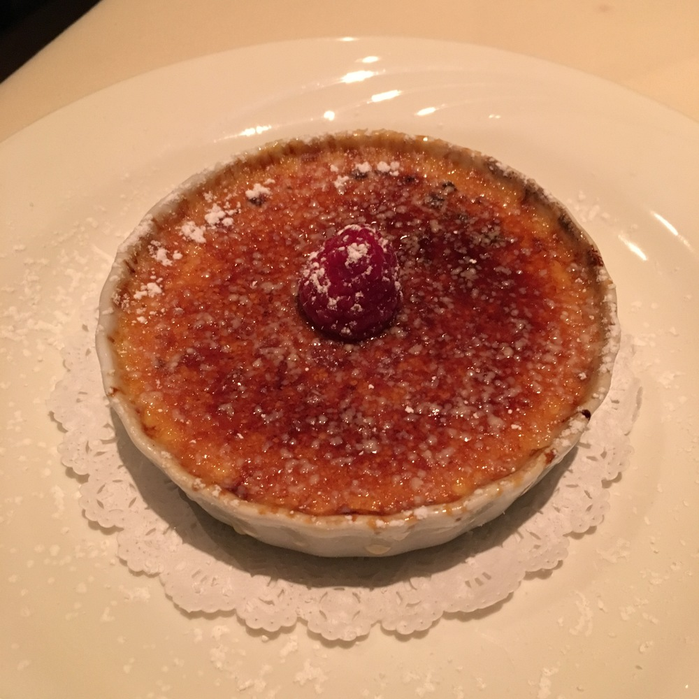 Blood Orange Mascarpone Crème Brûlée $9