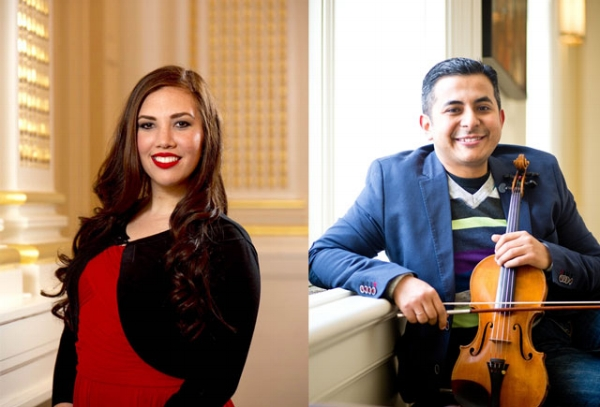 Click to listen to Highway89-BYUradio. Desiree Gonzalez Garza and Job Salazar play selections from the work of Mexican composer Manuel Ponce.