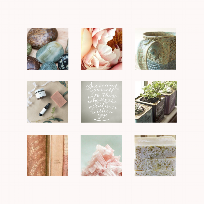 Moodboard for former client Ranch Rose
