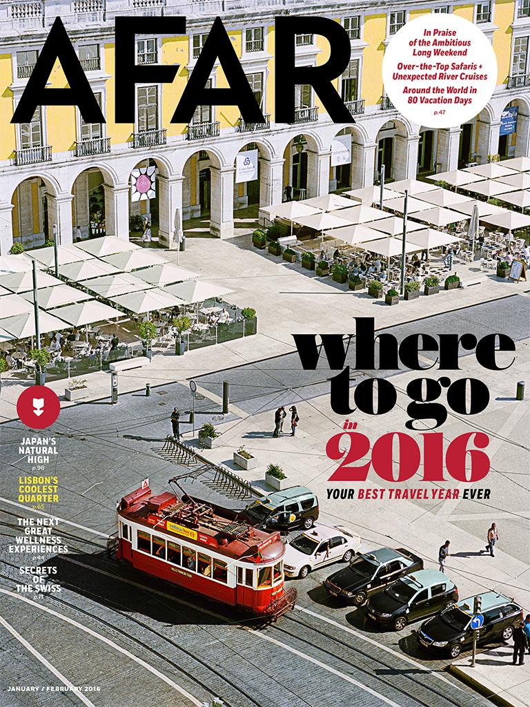 MSA was mentioned in the Jan/Feb 2016 issue of AFAR Magazine in an article called Fix-Your-Life Vacations.