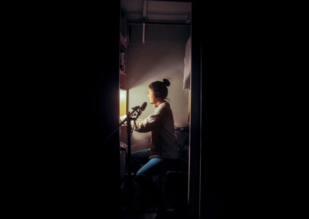 Photo By: Megan Tan  (This is me in my closet at 5 a.m. making this episode)