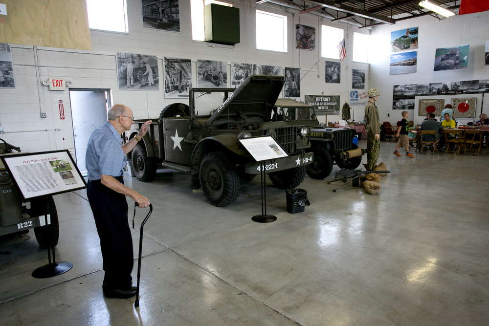 Arsenal vehicles on display.jpg