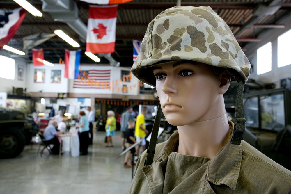 Arsenal mannequin in helmet.jpg