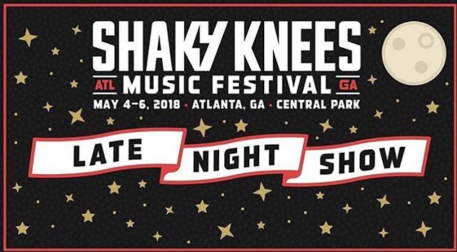 See you tonight Atlanta! We're playing a late night set at The Earl for @shakykneesfest!! It's our last show with @ghostofpaulrevere, so you better believe it's gonna be special!  11pm show - see you there!!!