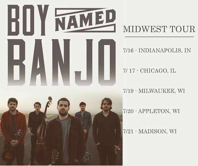 JUST ANNOUNCED! We're headed up north and slightly to the west to play some of our favorite cities. Link in bio for full details. See you soon!