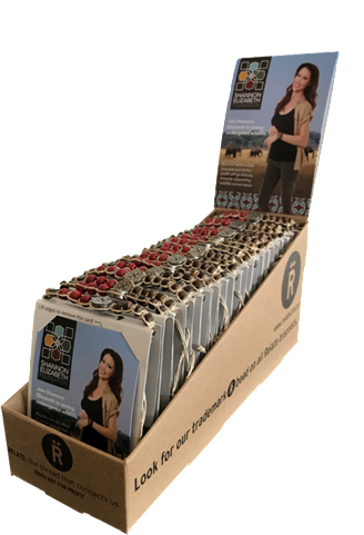 - For retail, the bracelets are sold in display boxes of 25.Wholesale Price:Per Unit: US$7.50Per Box: US$187.50Recommended Retail Price: US$12.00Retailer's Margin:Per Unit: US$4.50Per Box: US$112.50