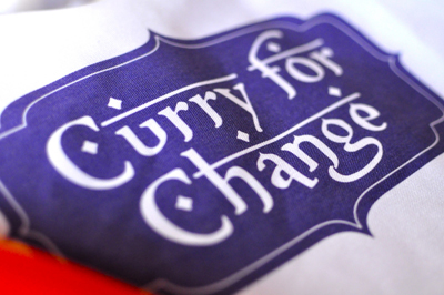 Curry for Change apron
