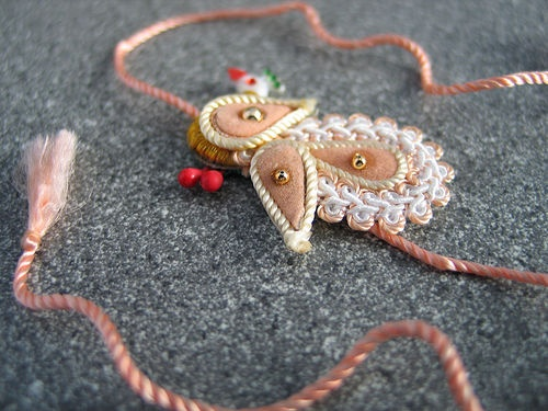 The thread of Raksha Bandhan