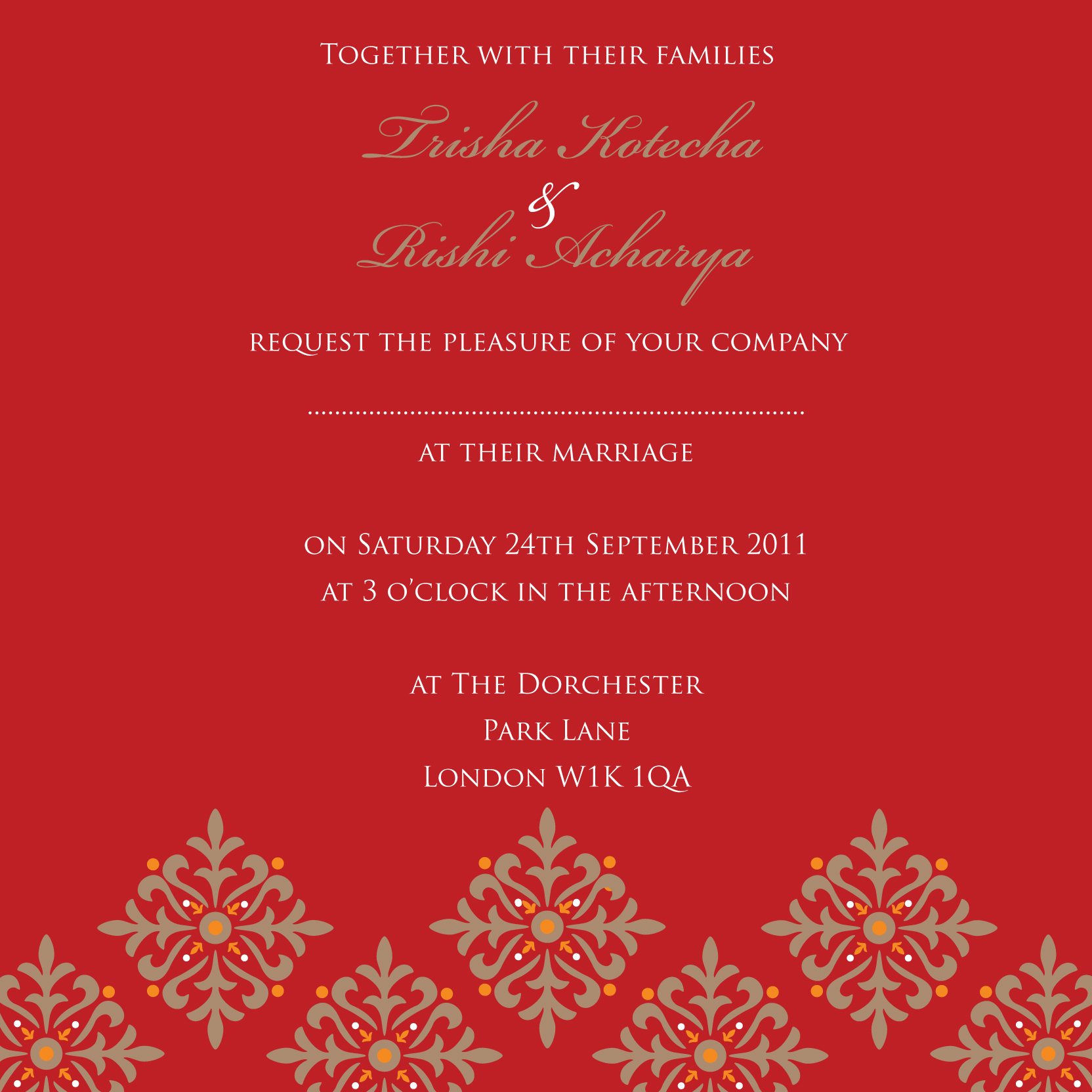 Indian Wedding Invitation – gangcraft.net