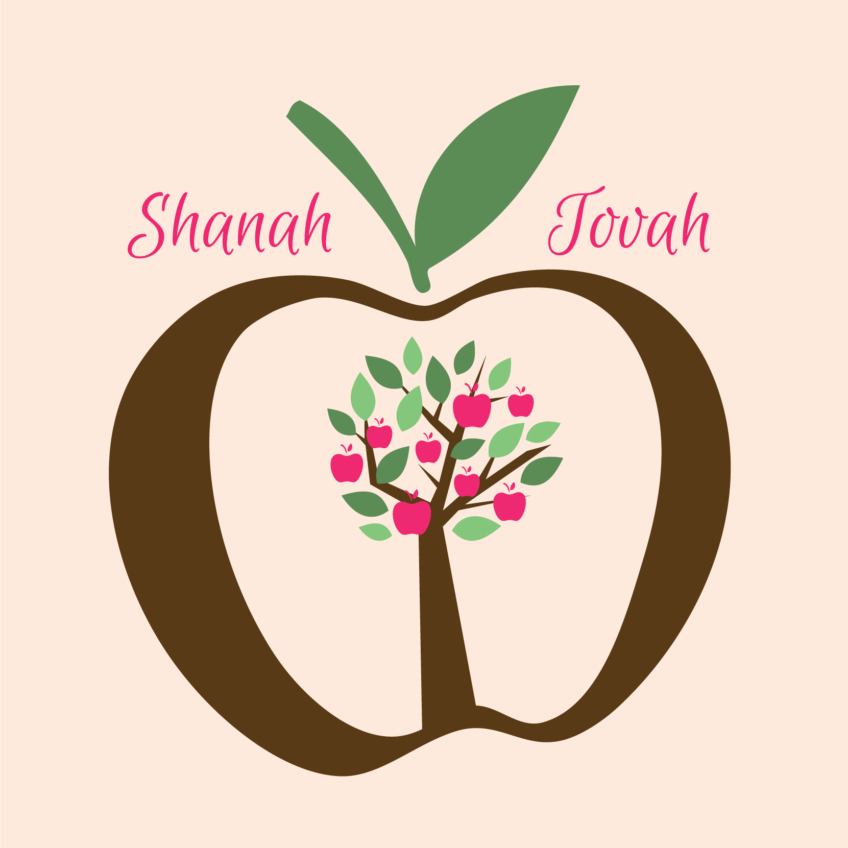 Personal touch and winning ways to make rosh hashanah extra special rosh hashanah greeting card by ananya m4hsunfo