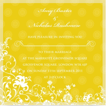 Ananya wedding invitation