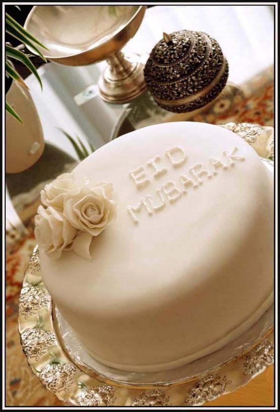 Eid cake by Bisma's Desserts