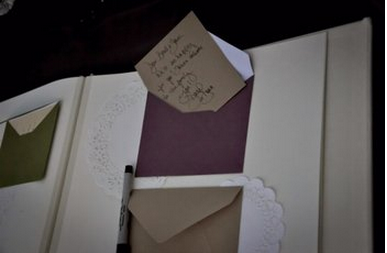 Wedding guestbook via Project Wedding