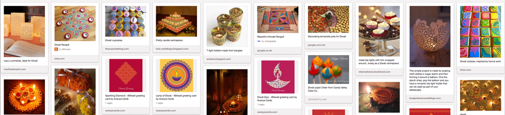 Diwali Pinterest board