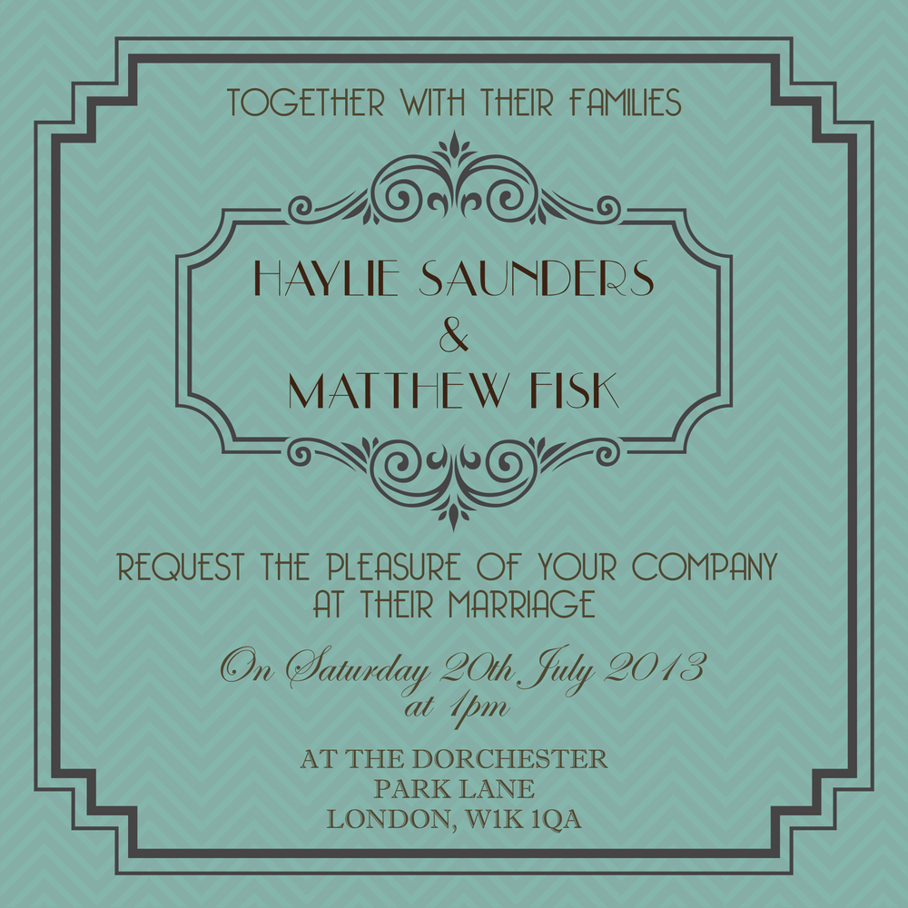 Wedding Stationery Trends for 2013 ananya