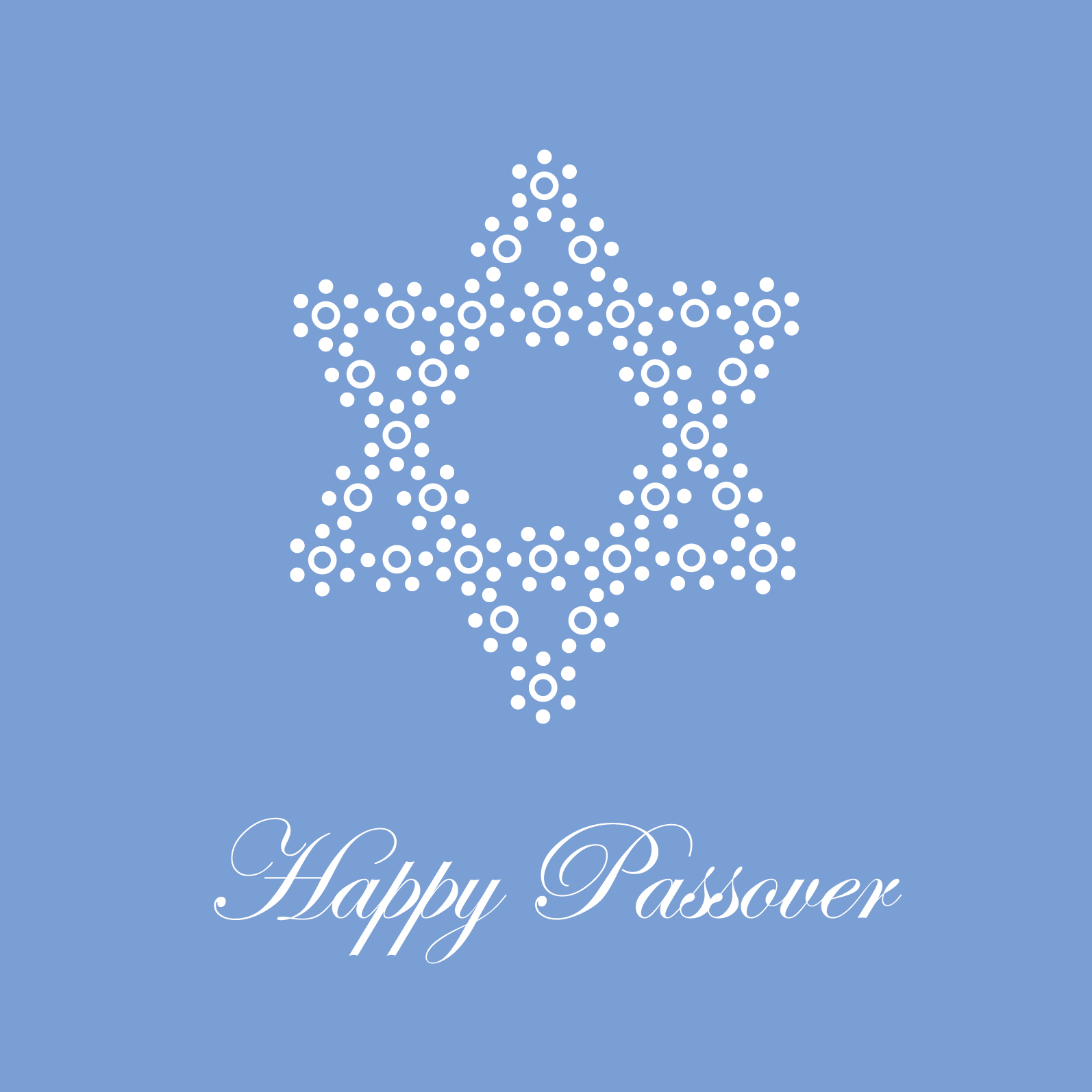 Passover ananya blue star of david greeting card for passover and pesach m4hsunfo Image collections