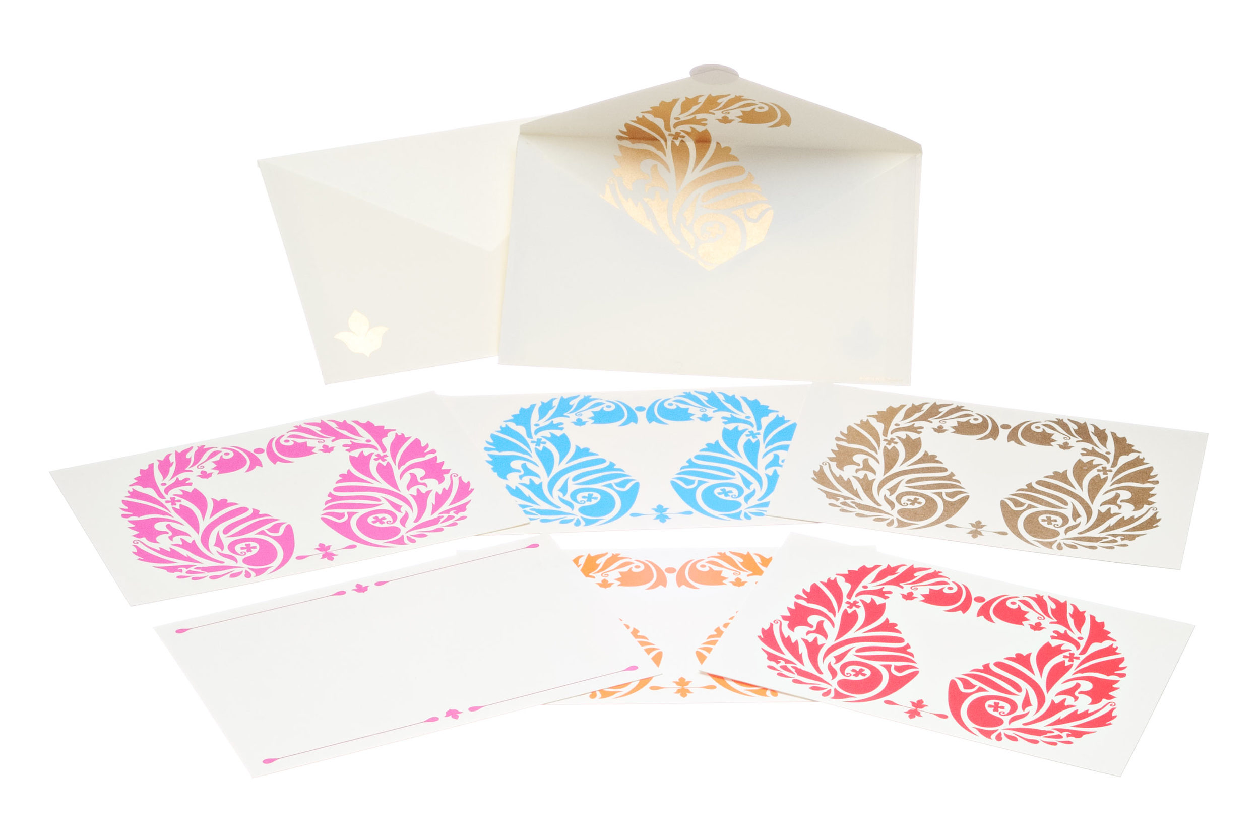 paisley, thank you cards