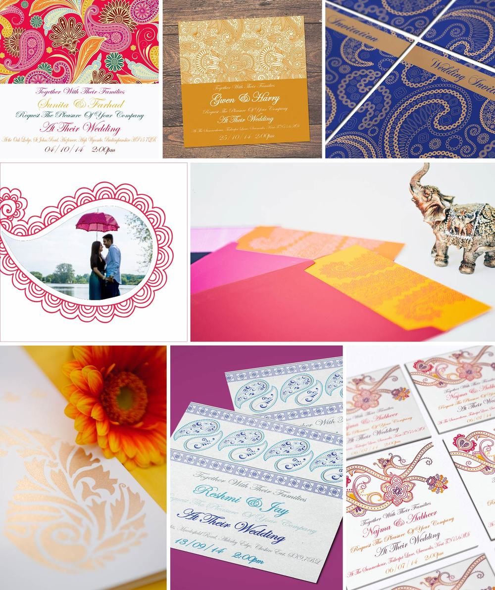 Unusual Wedding Invitations UK by Ananya