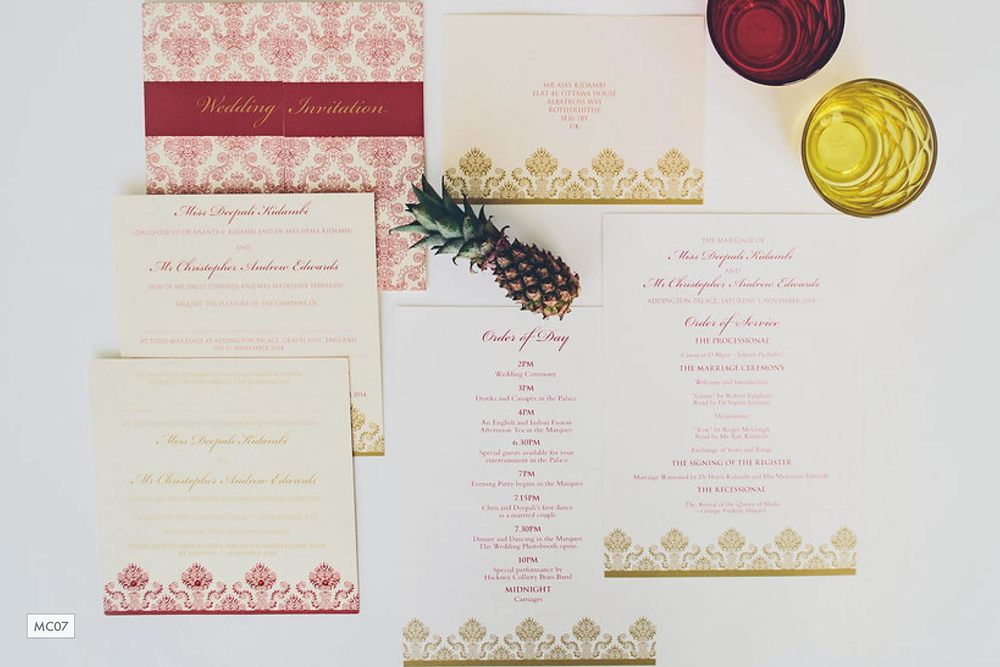 Red-gold-damask-English-Indian-multicultural-wedding-stationery_ananyacards.com.jpg