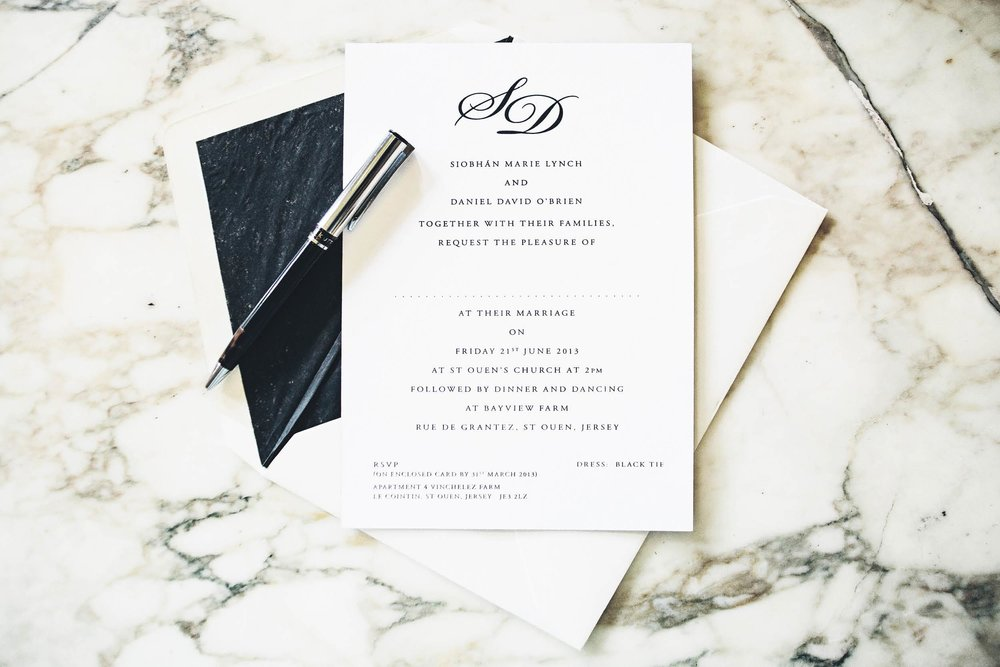 Monochrome_monogram evening wedding reception invitation_ananyacards.com-01.jpg