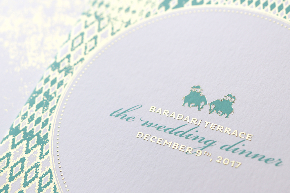 Mint-and-gold-Indian-elephant-wedding-menu_ananyacards.com.jpg
