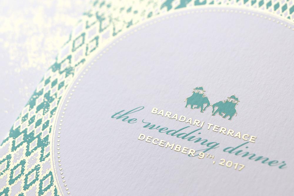 Mint-and-gold-Indian-elephant-wedding-menu_ananyacards.com.jpg
