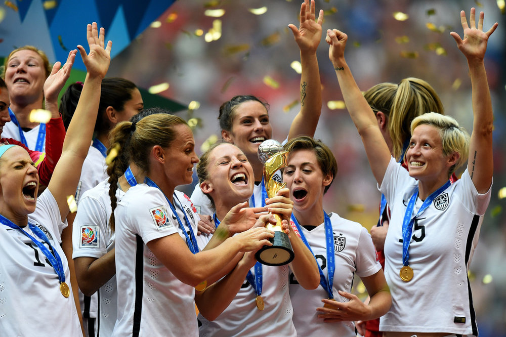 We Need More Role Models Like the U.S. Women's Soccer Team