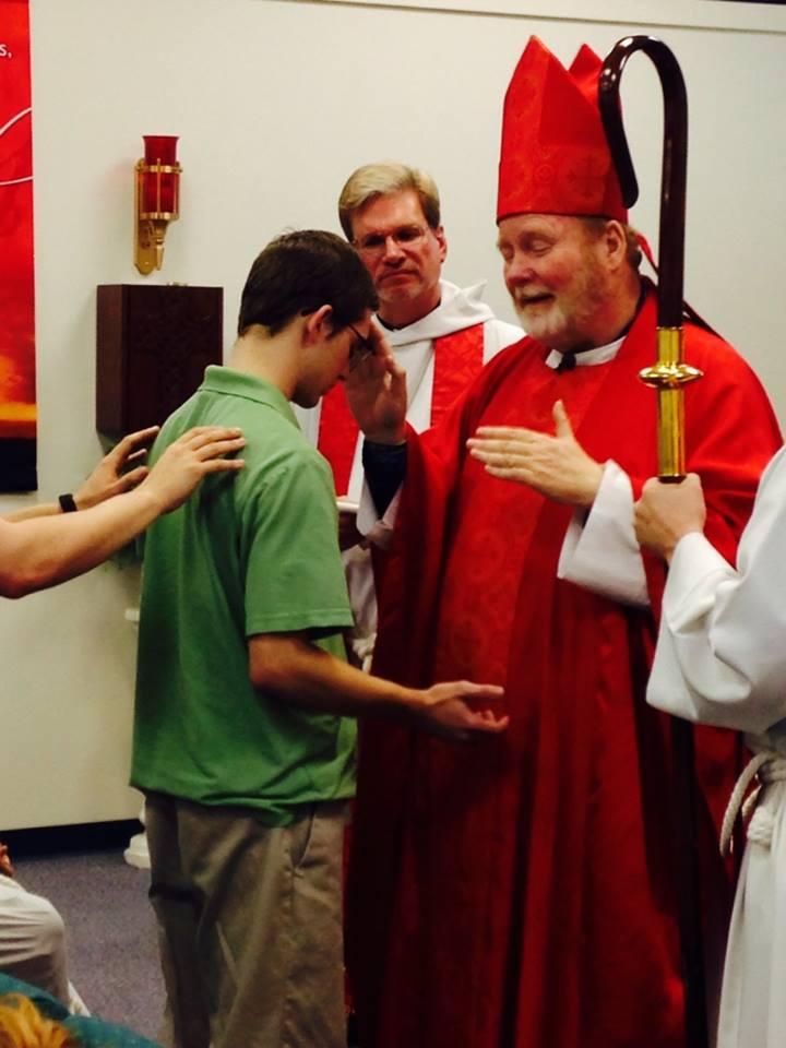 Bishop Chuck Visiting