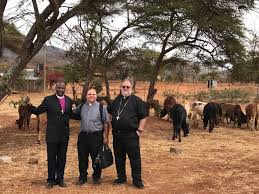 Bishop chuck in africa