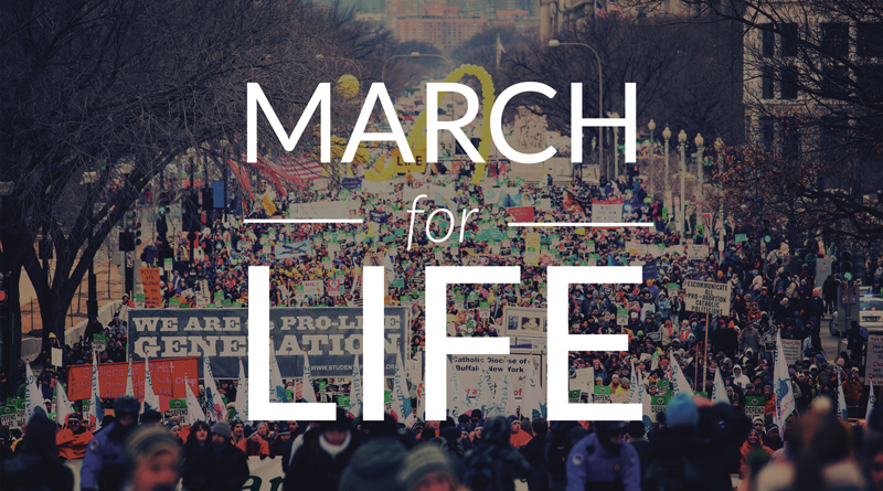 Pro-Life Walk - The annual walk for life in D.C., coming on January 19, 2018. This is a march to proclaim that all life is sacred, even the unborn. For more information check their website here.