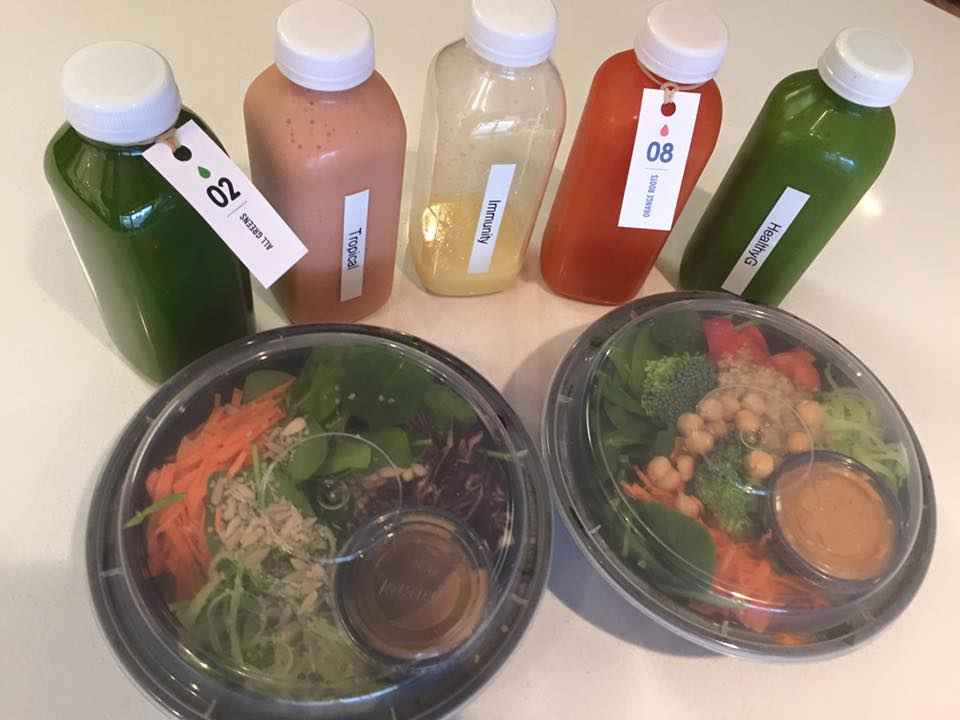 Day 1 of the Nutritional Cleanse. Photo courtesy of Commodity Juicery Smithers.